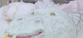 Резьба по снегу